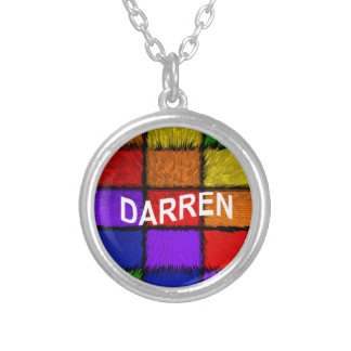 DARREN SILVER PLATED NECKLACE
