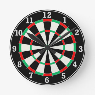 Dart Board Clock small