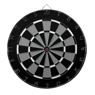 Dart Board in Florida Hockey Colors