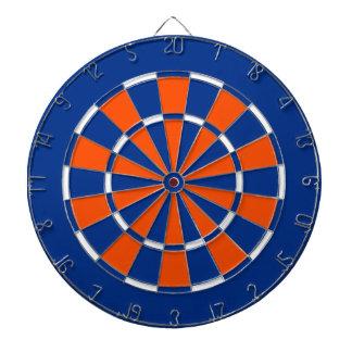 Dart Board in New York Island Hockey Colors