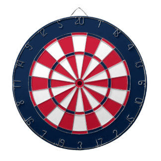 Dart Board in Washington Hockey Colors