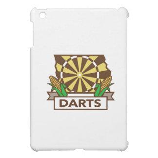 Dart Board Iowa State Map Corn Retro iPad Mini Cover