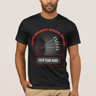 Dart League Great Team Mens Black T-shirt