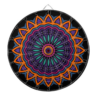 DART Mandala - Flower Dartboards