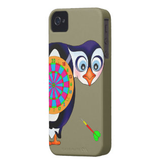 Dart Penguin by The Happy Juul Company iPhone 4 Case-Mate Cases