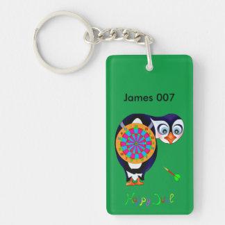 Dart Penguin by The Happy Juul Company Key Ring