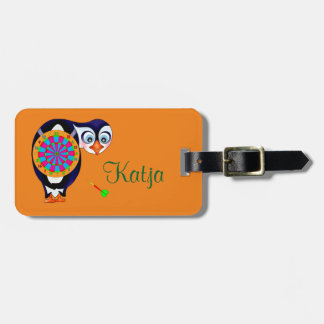 Dart Penguin by The Happy Juul Company Luggage Tag