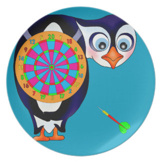 Dart Penguin by The Happy Juul Company Plate