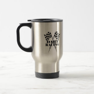 Dart Racing® travel mug