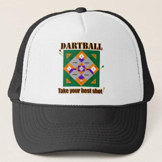 Dartball take your best shot! trucker hat