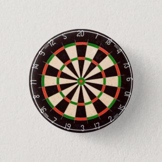Dartboard 3 Cm Round Badge