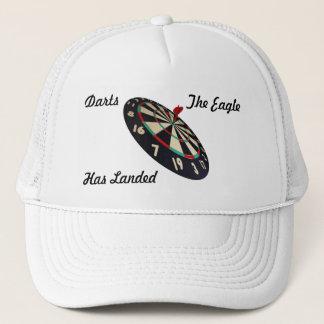 Dartboard Bullseye With Darts Logo, Trucker Hat