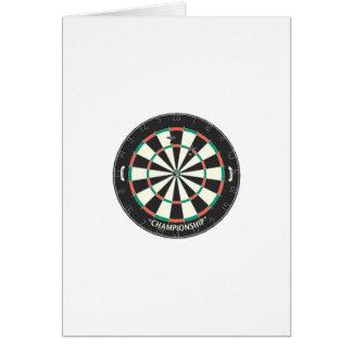 Dartboard & Darts: 3D Model: Card