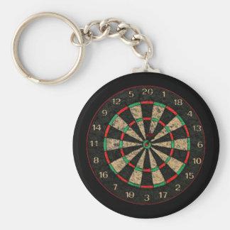 Dartboard Key-Chain Key Ring