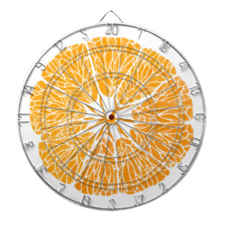 Dartboard - Orange you glad . . .