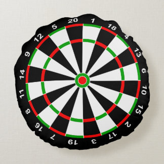 Dartboard Round Cushion