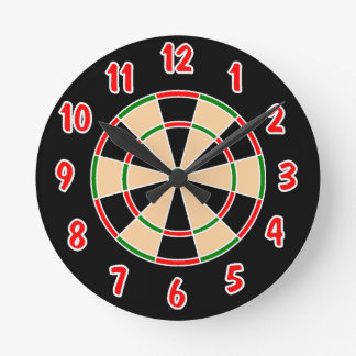 Dartboard Wall Clock. Clock