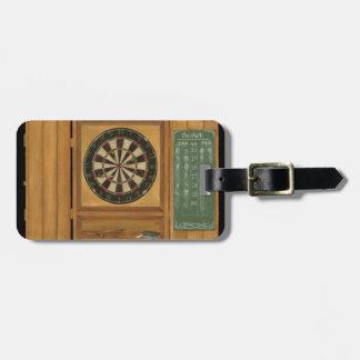 Dartboard with Cricket Scoring Luggage Tag