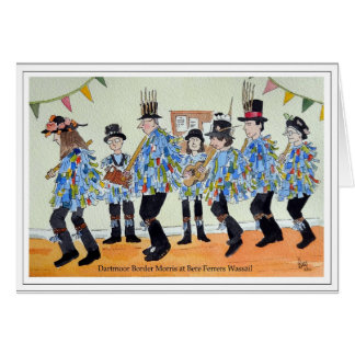Dartmoor Border Morris at Bere Ferrers Card