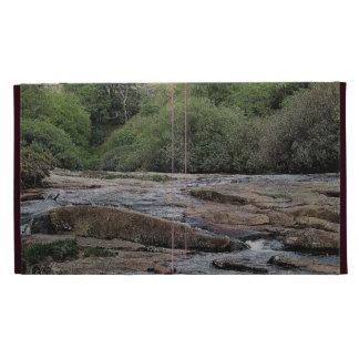 Dartmoor River Avon Shipley Bridge Early Summer iPad Folio Case