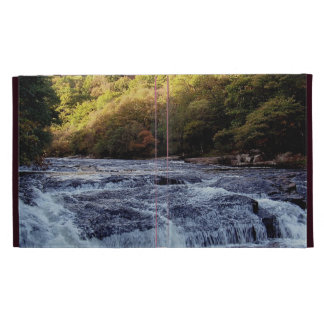 Dartmoor River Dart Vally Rowbrook Autunm iPad Folio Cases