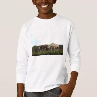 Dartmoor Wild Ponies Kids' Long Sleeved Shirt