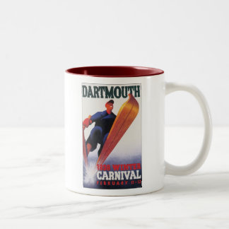 Dartmouth 1938 Winter Carnival Two-Tone Mug
