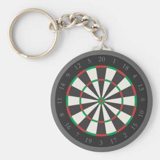 Darts Board keychain