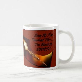 Darts Coffee Mug