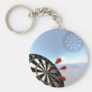 Darts Design Key Ring