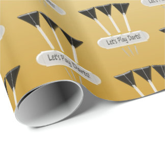 Darts Design Wrapping Paper