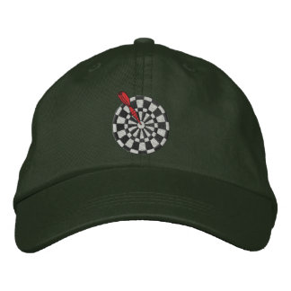 Darts Embroidered Hats