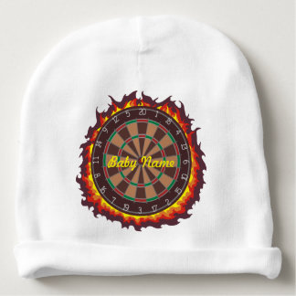 Darts Game Personalized Baby Beanie