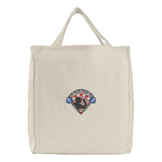 Darts Logo Embroidered Tote Bags