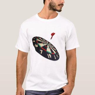 Darts On Target, Mens White T- Shirt
