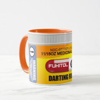 Darts Perscription Mug