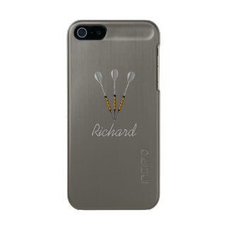 Darts Personalized / Monogram Incipio Feather® Shine iPhone 5 Case