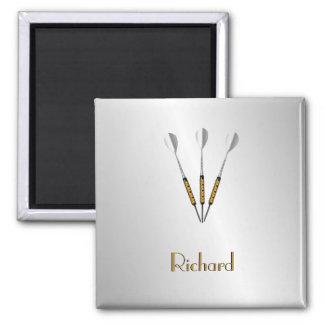 Darts Personalized / Monogram Magnet