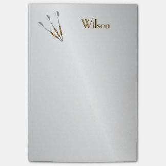 Darts Personalized / Monogram Post-it Notes