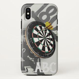 Darts Player Dartboard 180 Monogram iPhone X Case