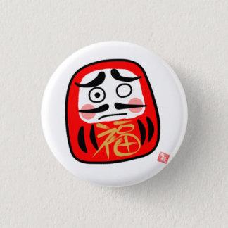 Daruma (Daruma) A 3 Cm Round Badge