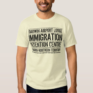 Darwin Airport Lodge Immigration Detention Centre Tshirts