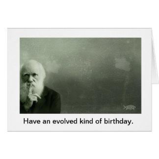 Darwin Birthday Card