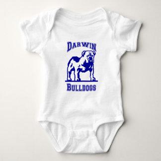Darwin Bulldogs - Blue Baby Bodysuit