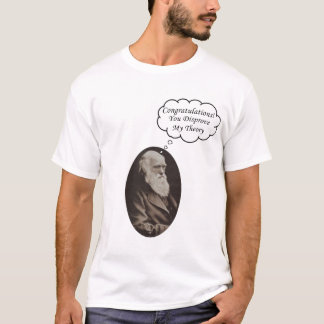 Darwin Disprove Theory T-Shirt