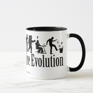 Darwin Evolution Mug