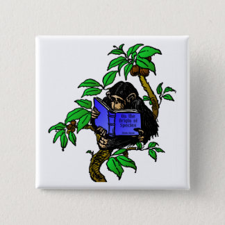 Darwin Fan 15 Cm Square Badge