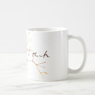 Darwin, I think tree of life Coffee Mug