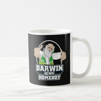 Darwin Is My Homeboy (Full Color) Basic White Mug