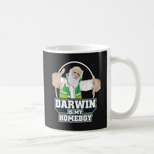 Darwin Is My Homeboy (Full Color) Mugs